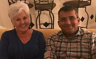 Linda Miles and Amol Nirgudkar
